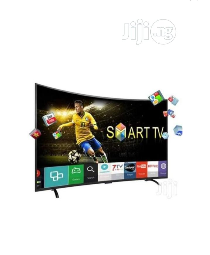 """Royal 55"""" Curved Smart LED TV"""