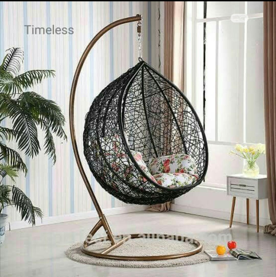 Outdoor Hanging Swing Chair | Furniture for sale in Gaduwa, Abuja (FCT) State, Nigeria