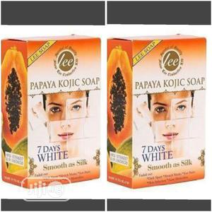 Papaya Kojic Soap Lee 7 Days | Bath & Body for sale in Lagos State, Amuwo-Odofin