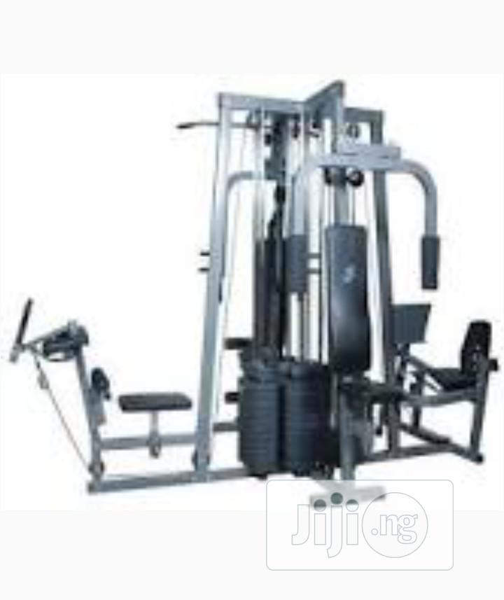 Original American Fitness 4 Station Gym