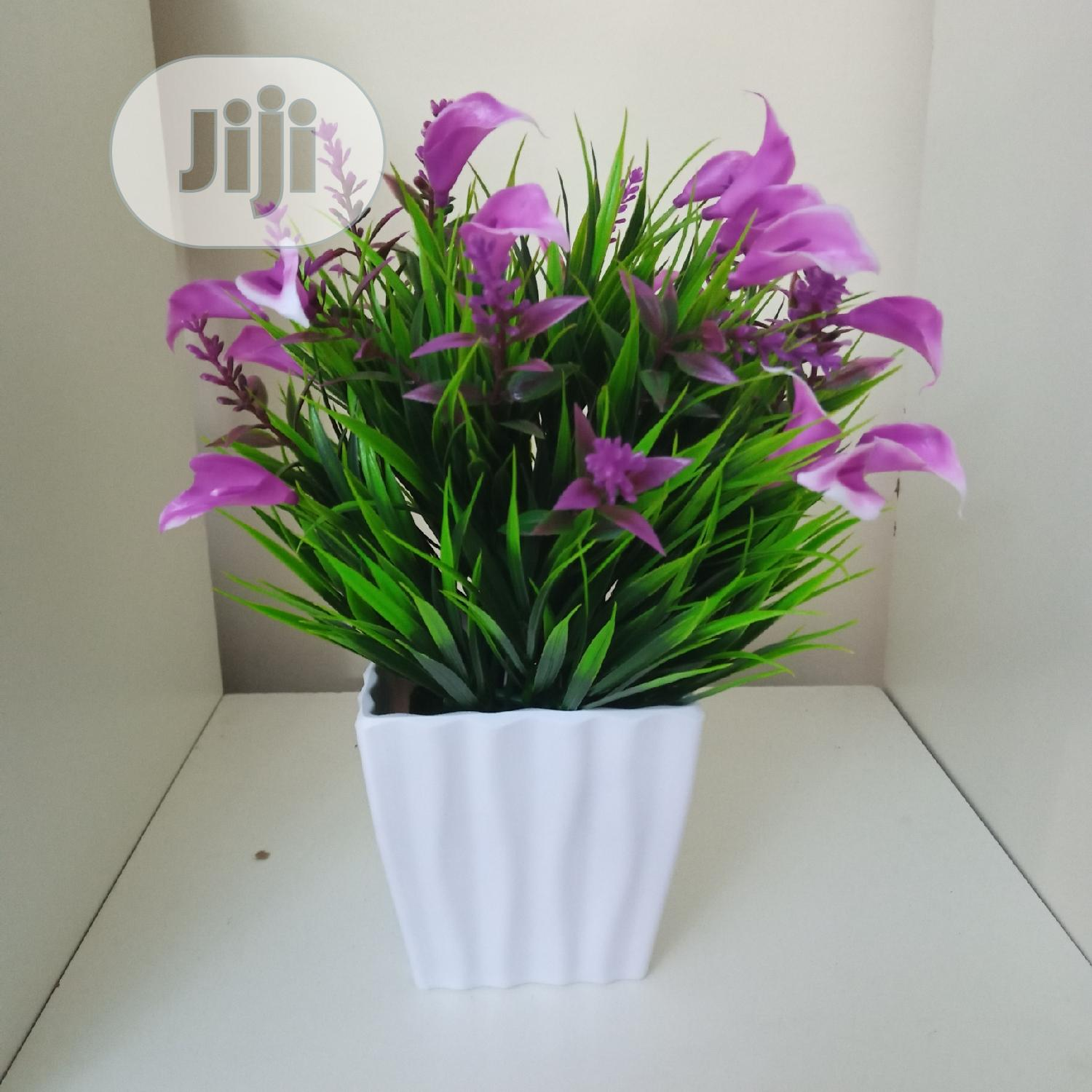 Portable Vase + Artificial Plant   Home Accessories for sale in Ajah, Lagos State, Nigeria