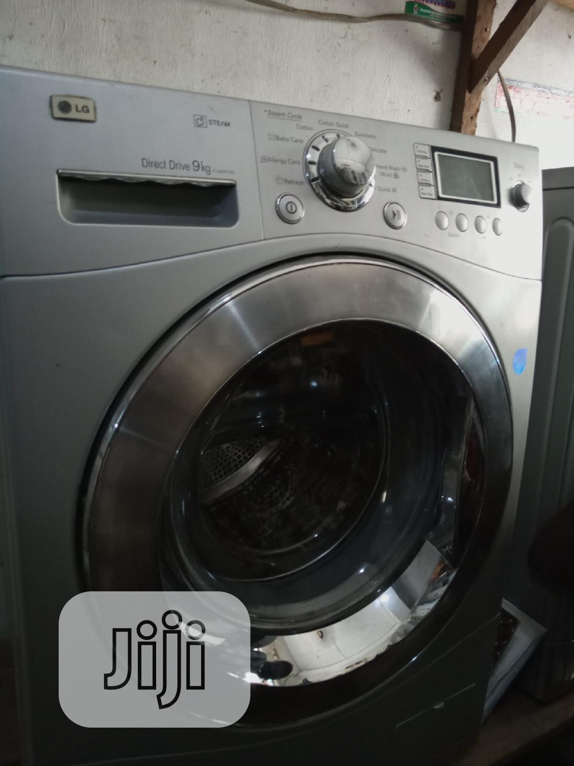 All Kinds Of UK Fairly Used Washing Machine | Home Appliances for sale in Ajah, Lagos State, Nigeria