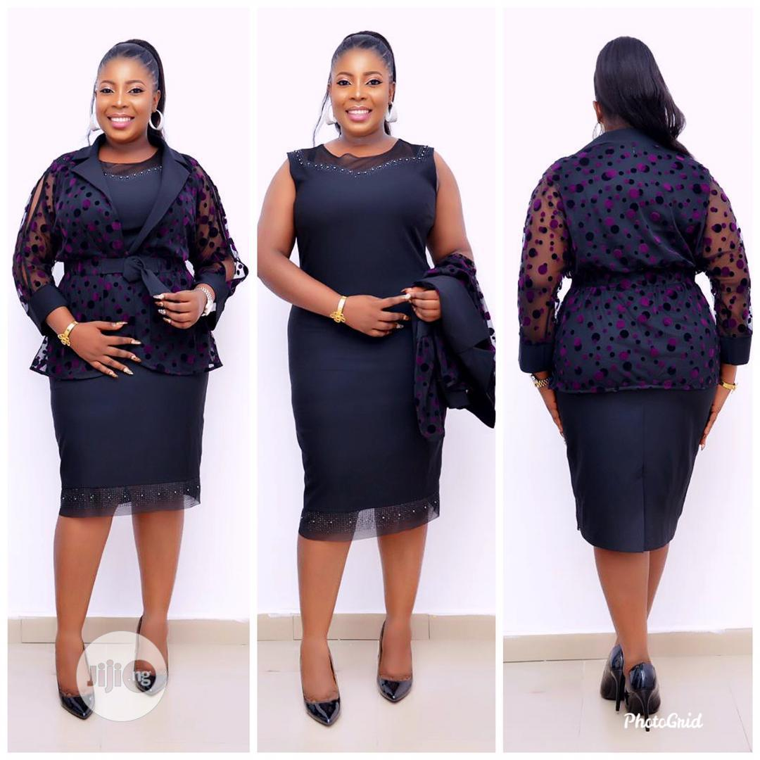 Classy Ladies Turkish Gown and Jacket   Clothing for sale in Ikeja, Lagos State, Nigeria