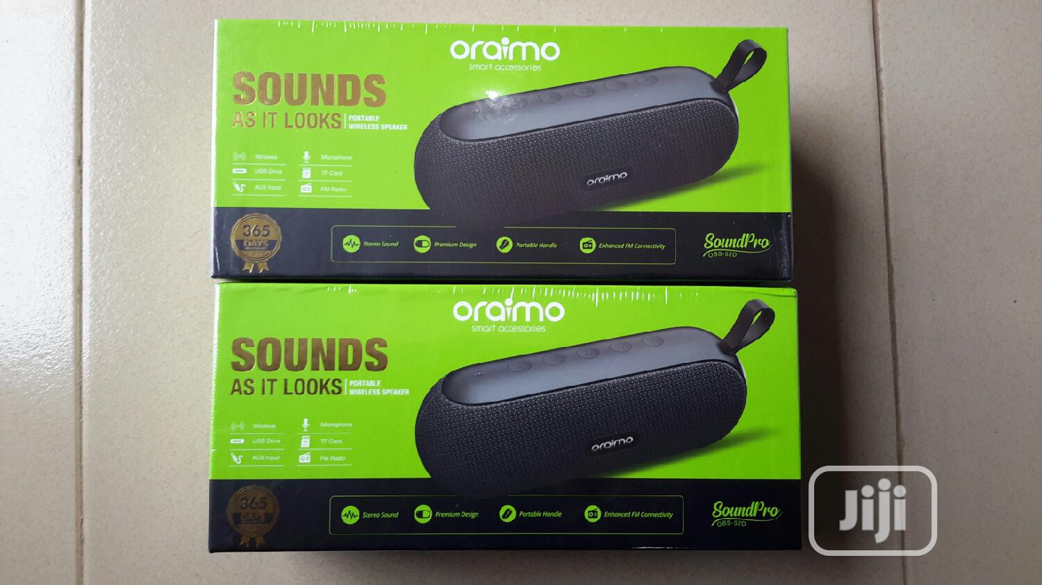 Oraimo OBS 52D Speaker | Audio & Music Equipment for sale in Ikeja, Lagos State, Nigeria