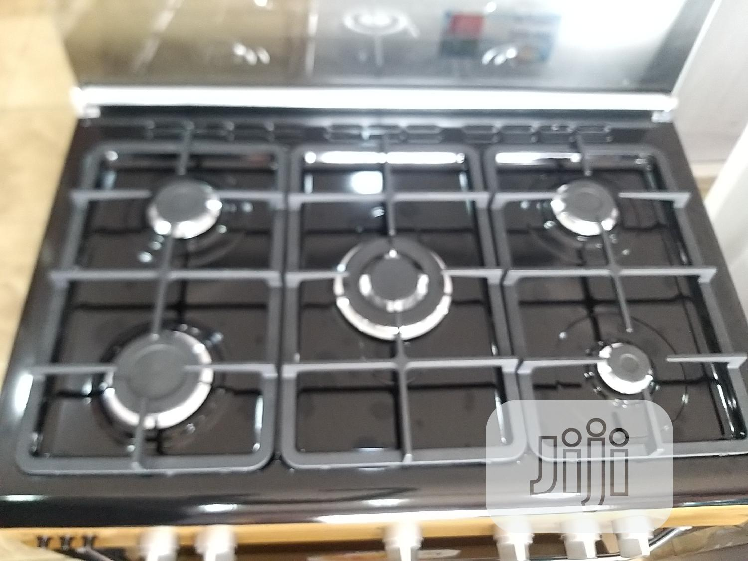 Polystar Gas Cooker 5gas Burner | Kitchen Appliances for sale in Benin City, Edo State, Nigeria