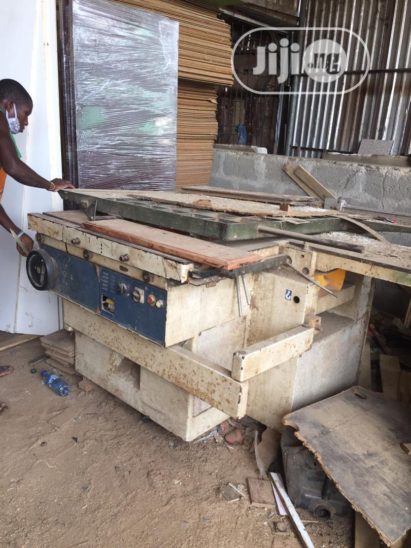 Moulty Functions Wood Working Machine
