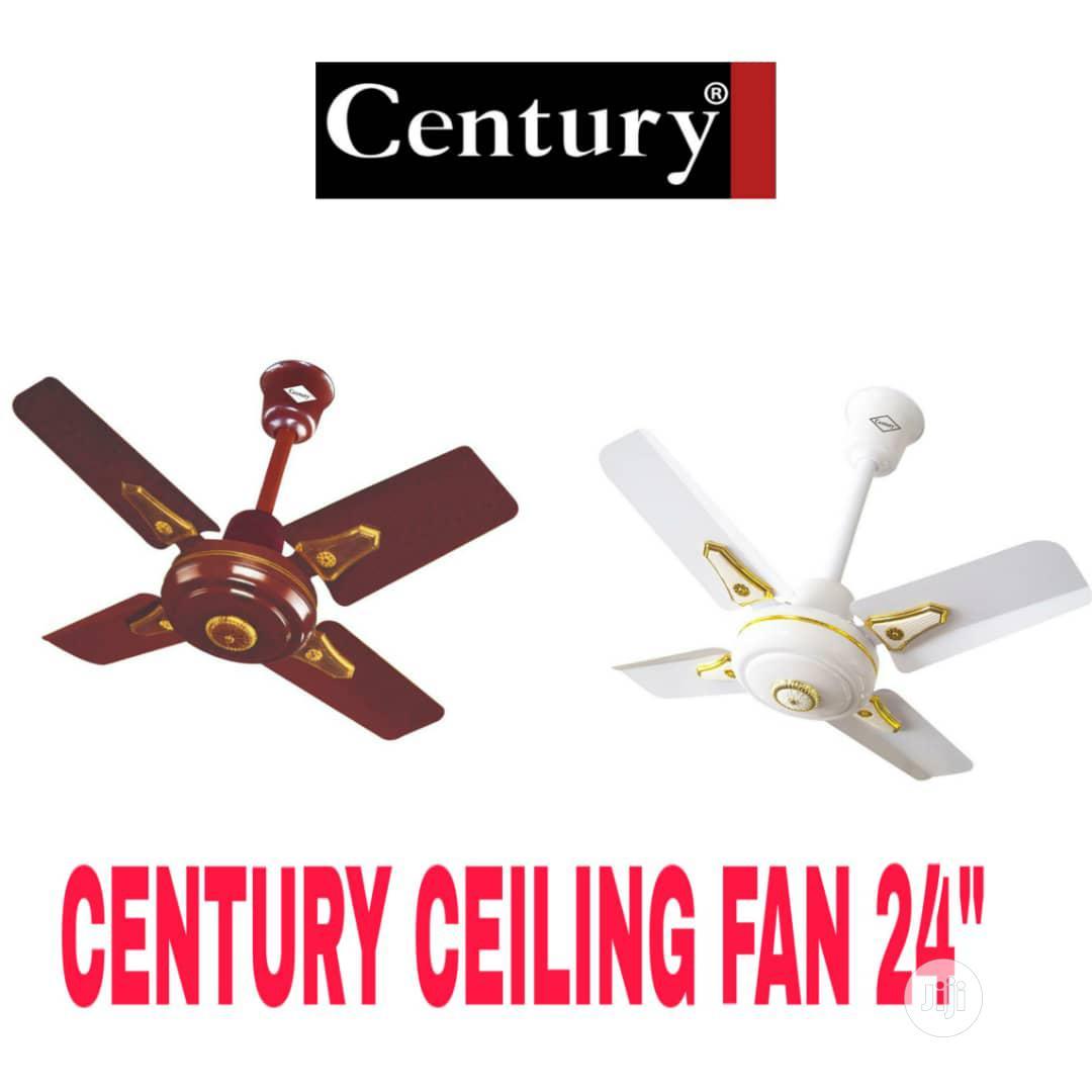 Century Short Blade Ceiling Fan