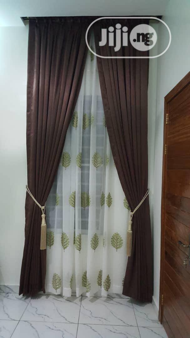 Taffeta Curtain   Home Accessories for sale in Yaba, Lagos State, Nigeria