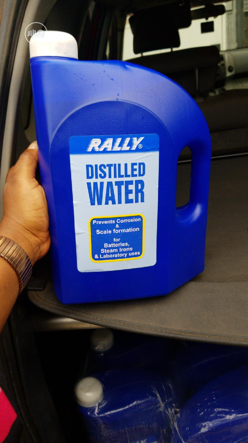 Rally Distilled Water For Batteries