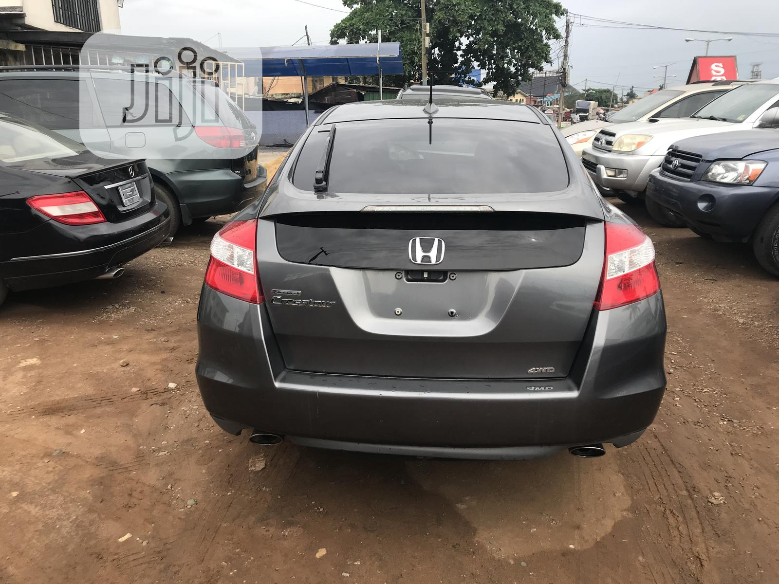 Honda Accord CrossTour 2010 EX-L AWD Gray | Cars for sale in Egbe Idimu, Lagos State, Nigeria