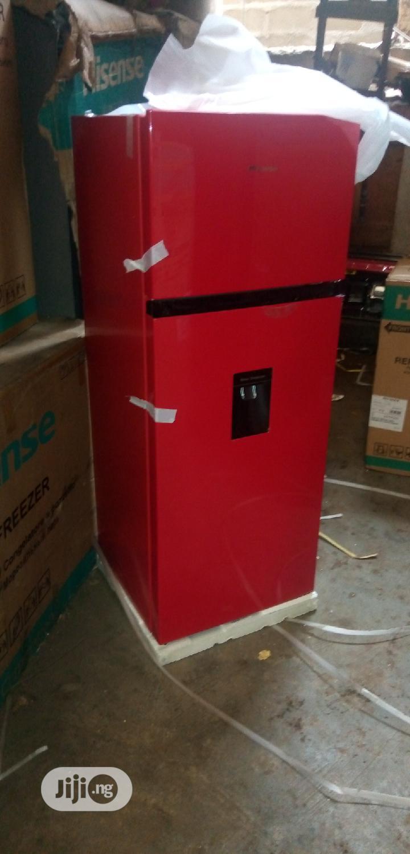 Original Hisense Refrigerator With Water Dispenser 130ltr (REF205DRB)