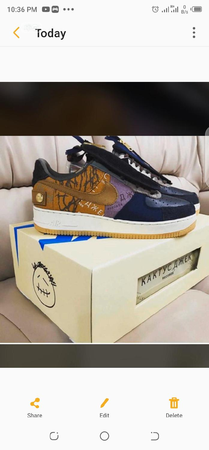 Travis Scott Sneakers | Shoes for sale in Lagos Island, Lagos State, Nigeria