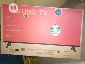 Lg 75 UHD Smart Tv 4k   TV & DVD Equipment for sale in Lagos State, Ojo