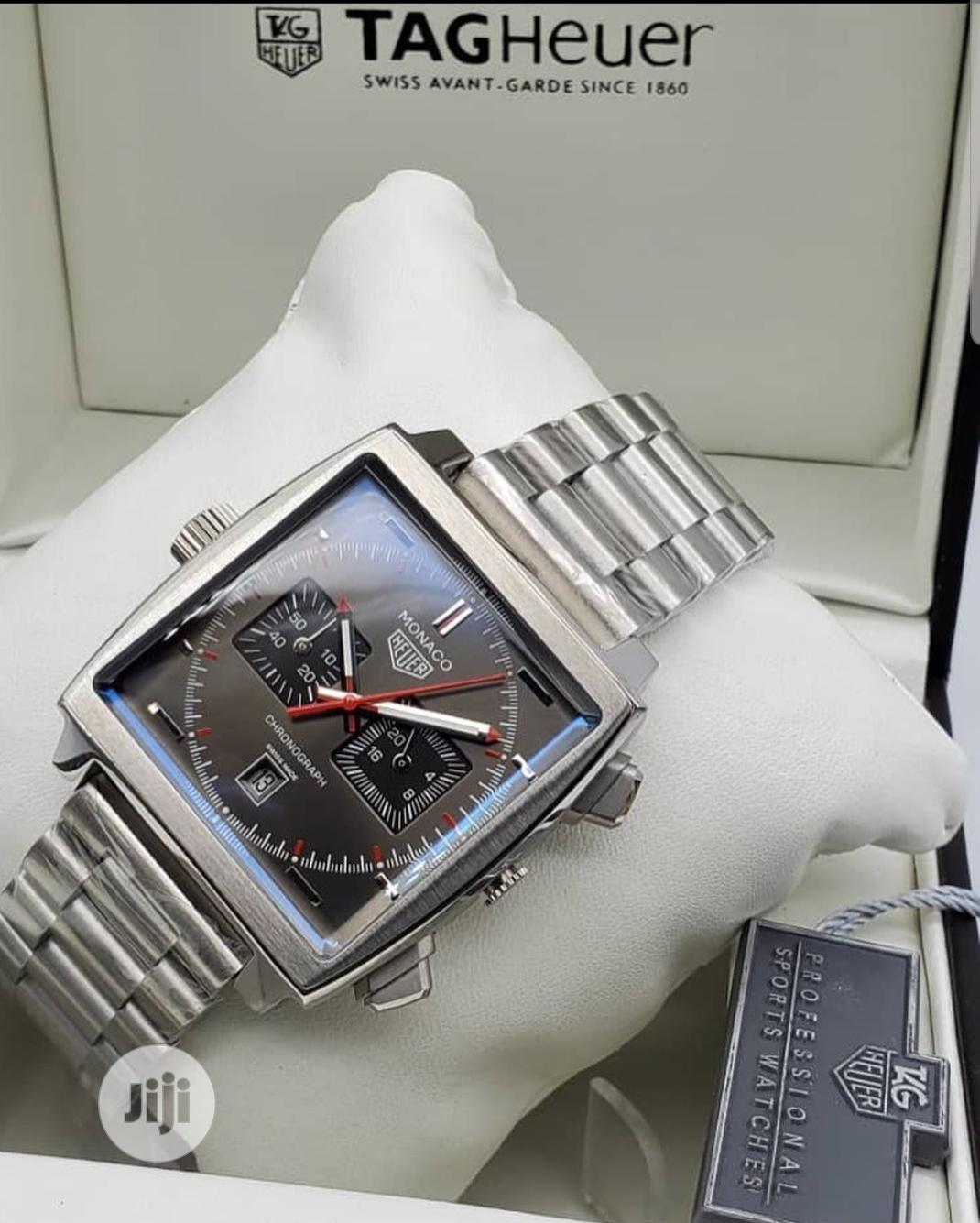 Tag Heuer Sliver Wrist Watch for Men