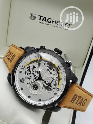 Tag Heuer Leather Watch for Men   Watches for sale in Lagos State, Magodo