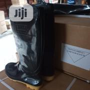 Rain Boot Black Color No Steel | Safety Equipment for sale in Lagos State, Lagos Island