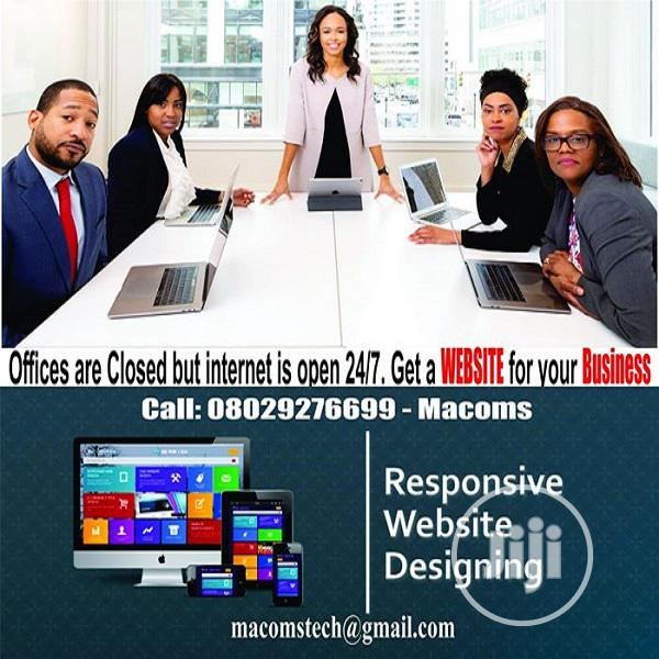 Website Design | Computer & IT Services for sale in Ikeja, Lagos State, Nigeria