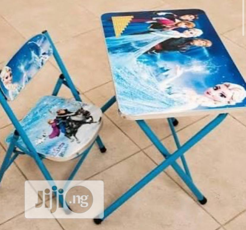 Kids Character Table And Chair