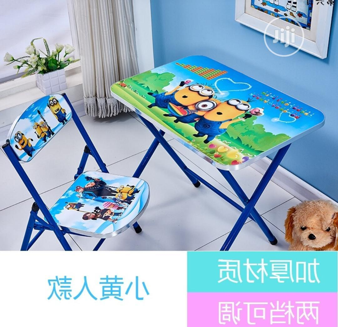 Kids Character Table And Chair   Children's Furniture for sale in Agege, Lagos State, Nigeria