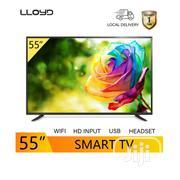 Lloyd 55inch Smart LED UHD TV - Lloyd Manufacturer - Black | TV & DVD Equipment for sale in Abuja (FCT) State, Central Business Dis