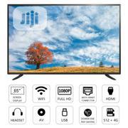 Lloyd 65inch Smart LED UHD TV - Lloyd Manufacturer - Black | TV & DVD Equipment for sale in Lagos State, Ikeja