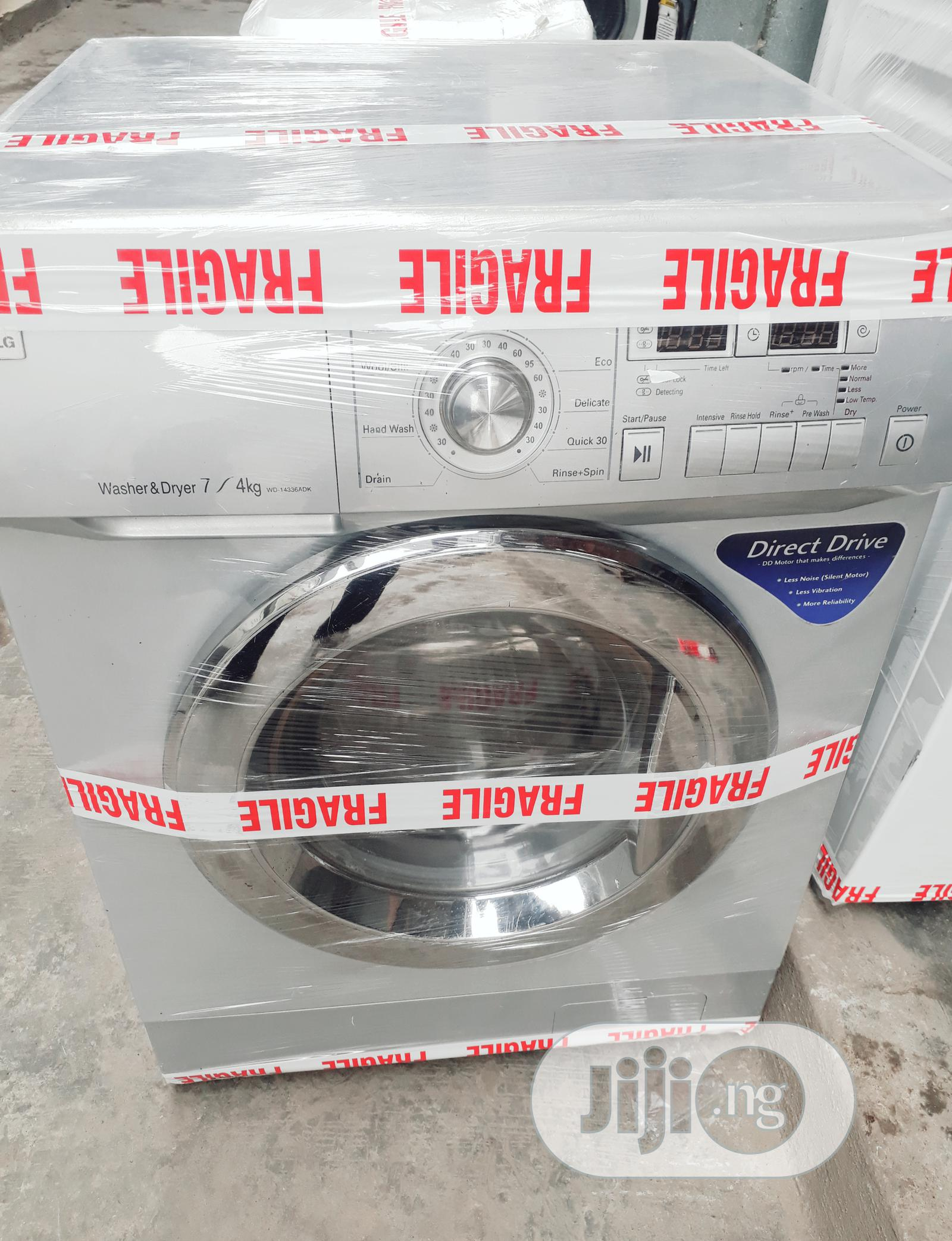 Combo LG 7kg Washing Machine Washer Dryer With 1year Warranty