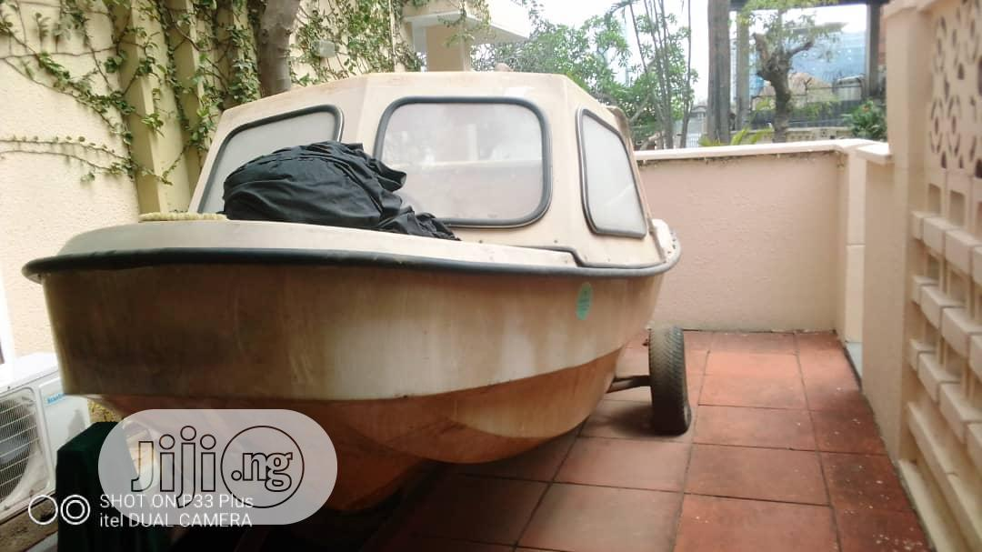Archive: Cruiser Boat With 85hp Yamaha Engine