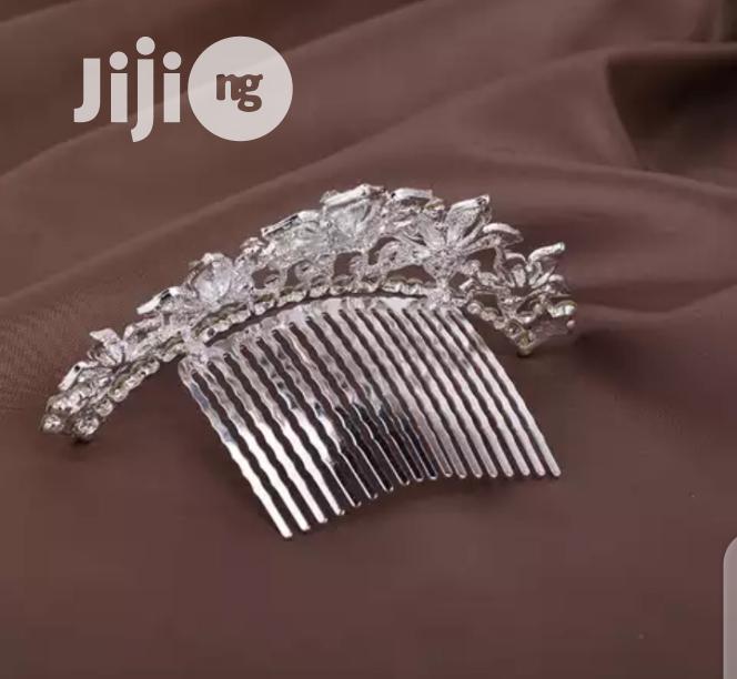 Bridal Cumb Tiara Crown | Wedding Wear & Accessories for sale in Wuse, Abuja (FCT) State, Nigeria
