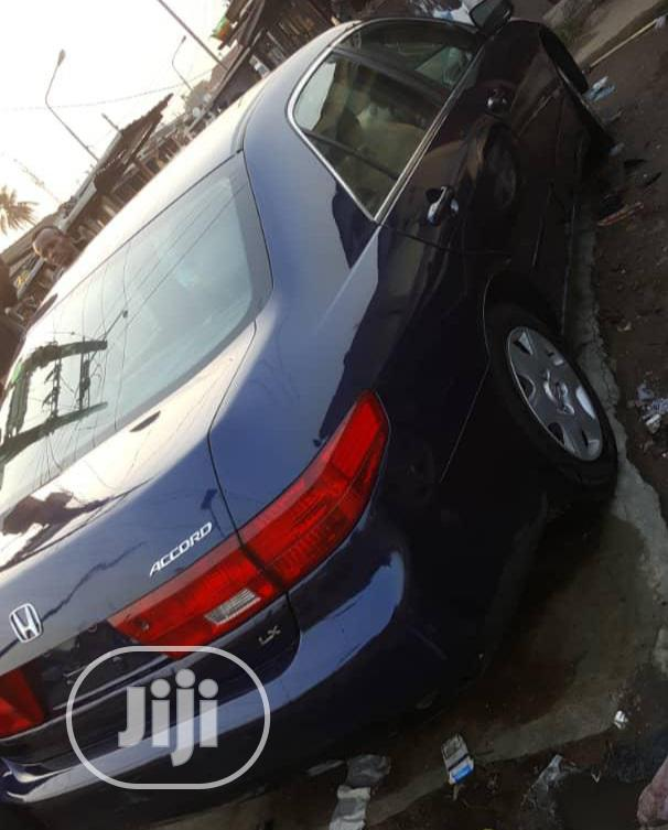 Honda Accord 2005 Automatic Blue   Cars for sale in Alimosho, Lagos State, Nigeria