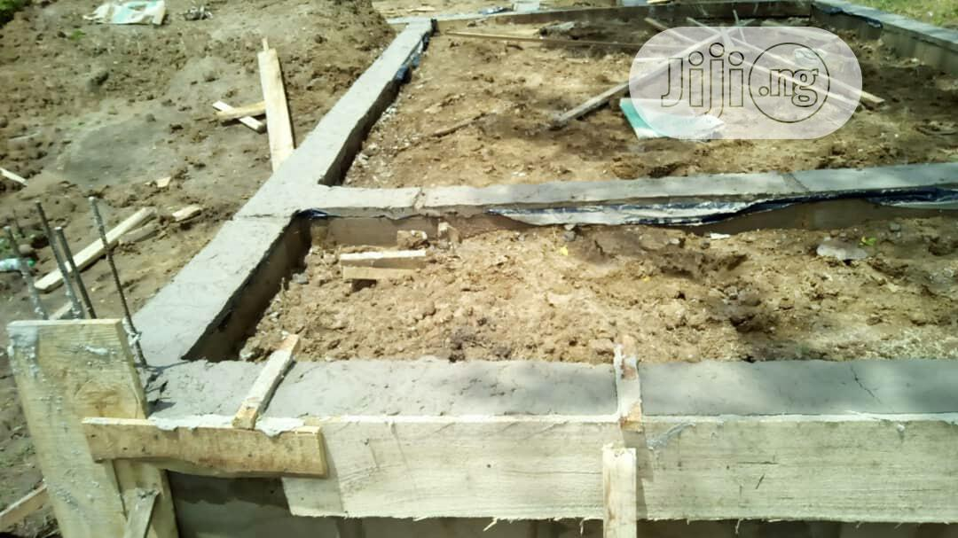 Room & Parlour Self Contain Foundation With More Space For Sale | Land & Plots For Sale for sale in Akure, Ondo State, Nigeria