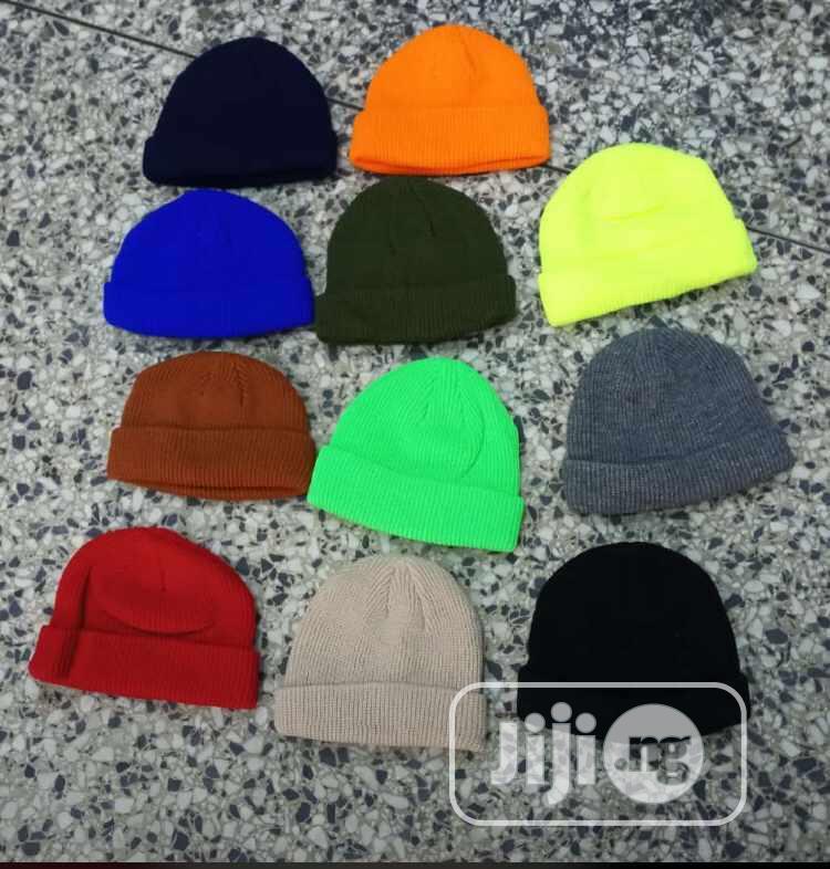 Plain Suede Face Cap | Clothing Accessories for sale in Apapa, Lagos State, Nigeria