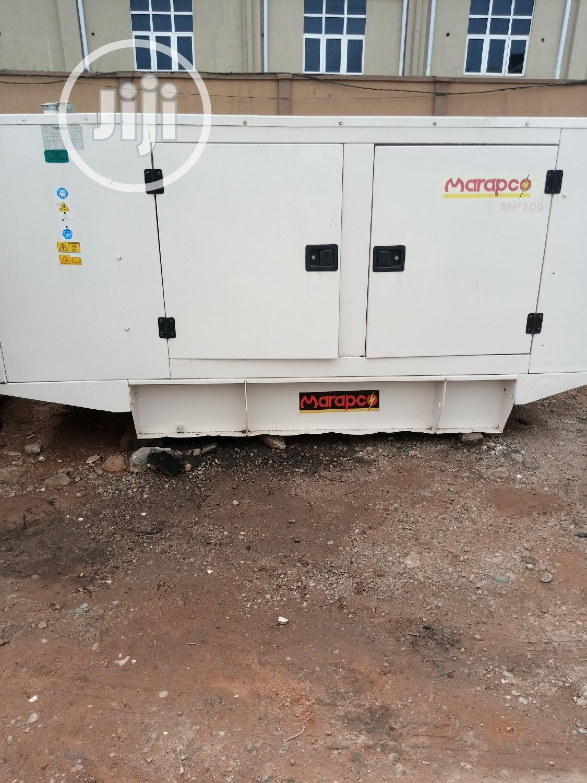100kva Marapco Perkins Generator | Electrical Equipment for sale in Ikeja, Lagos State, Nigeria