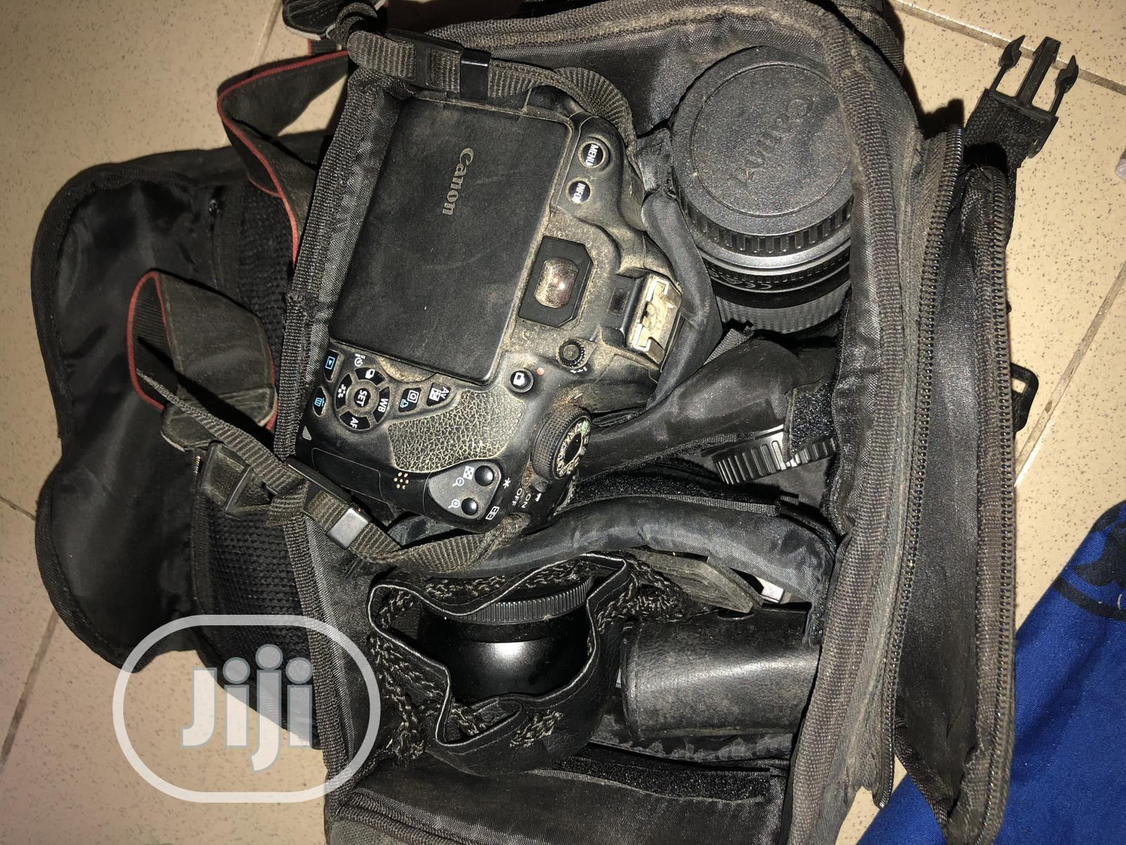 Full Kit With Canon EOS Rebel T5i- EF | Photo & Video Cameras for sale in Asokoro, Abuja (FCT) State, Nigeria