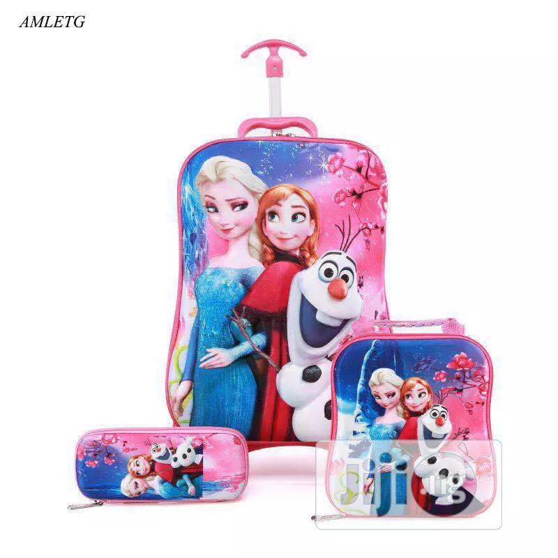 Disney 5D 3-in-1 Trolley School Bag