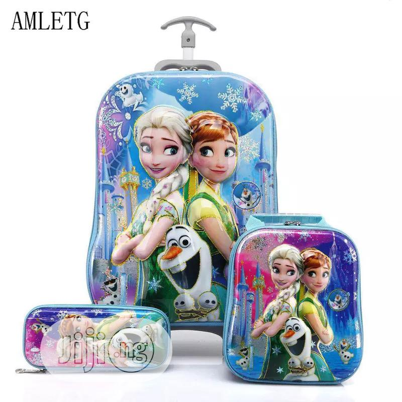 Disney 5D 3-in-1 Trolley School Bag | Babies & Kids Accessories for sale in Lagos Island, Lagos State, Nigeria
