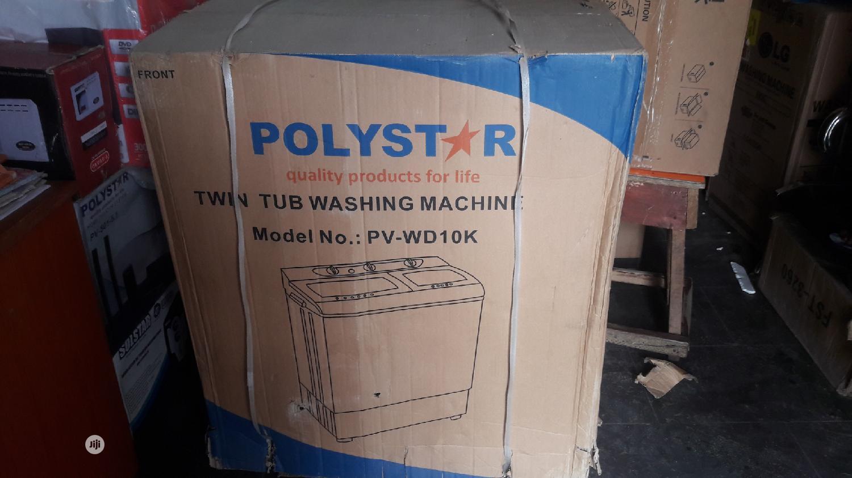 Polystar Washing Machine Pv-Wd10kg | Home Appliances for sale in Ojo, Lagos State, Nigeria