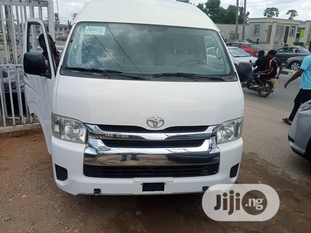 Tokunbo Direct Hand Toyota Hiace Hummer 2014 White