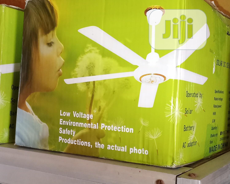 12vdc Solar Ceiling Fan