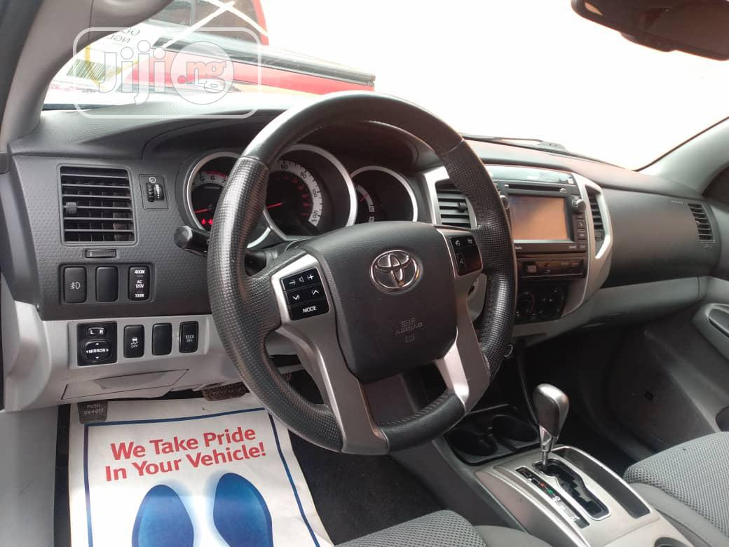 Toyota Tacoma 2013 Gray | Cars for sale in Ikeja, Lagos State, Nigeria