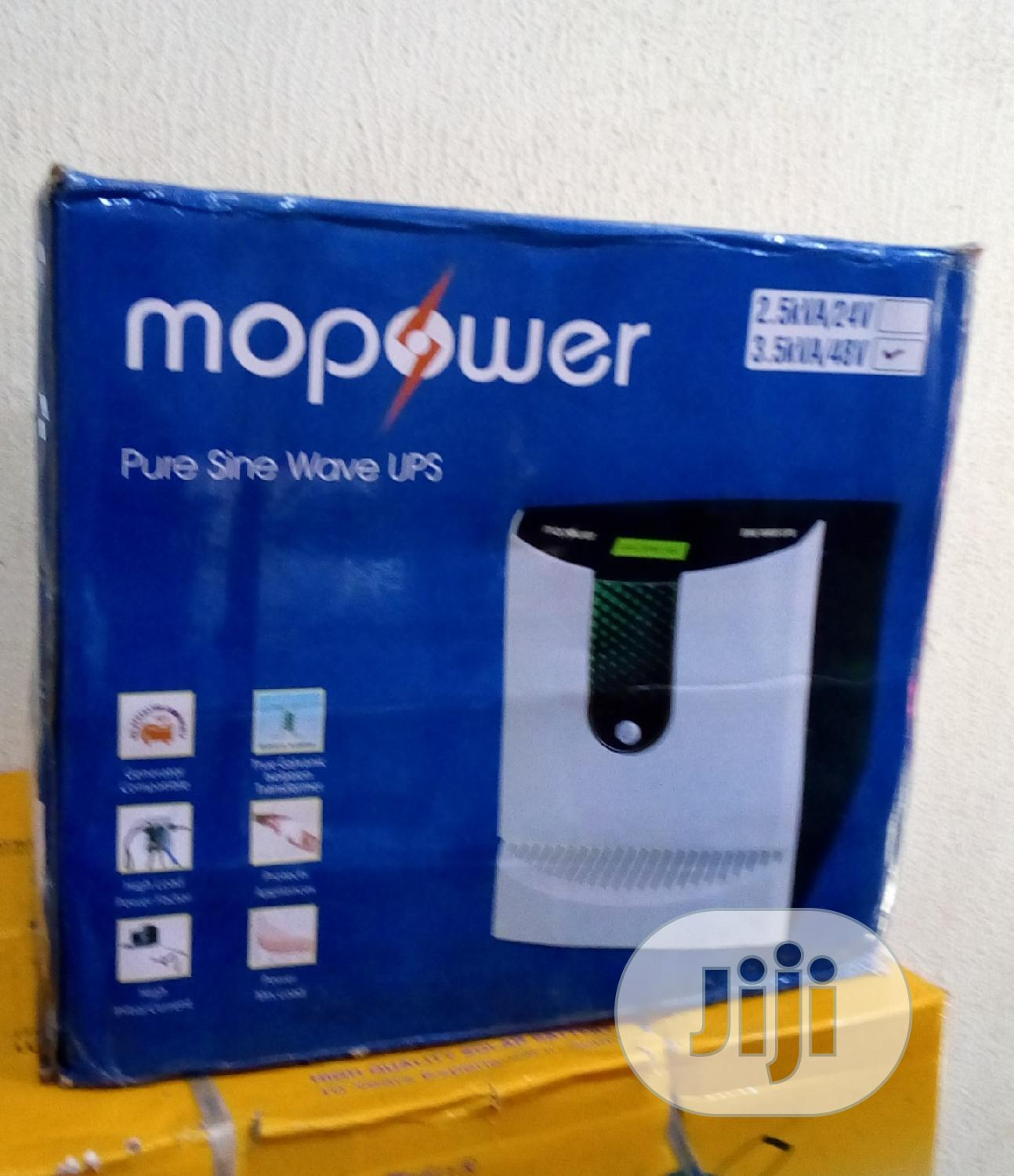 Archive: Mopower Inverter 3.5kva/48v Pure Sine Wave