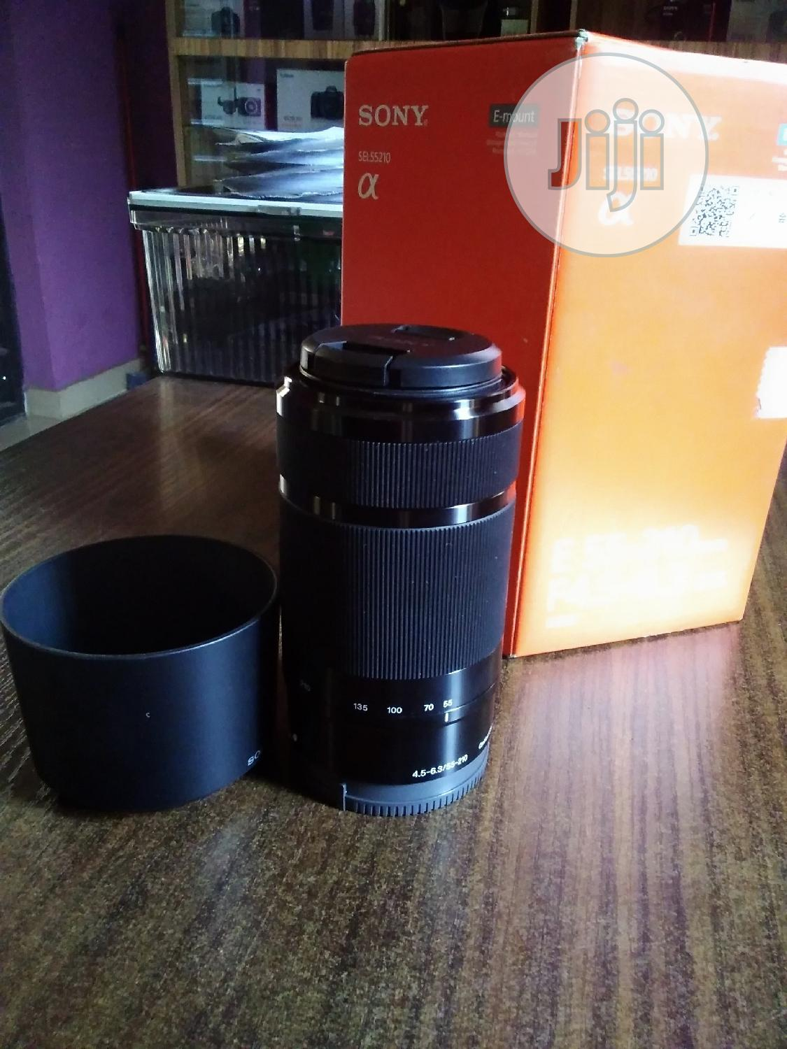 Sony Lens E 55 -210mm   Accessories & Supplies for Electronics for sale in Alimosho, Lagos State, Nigeria