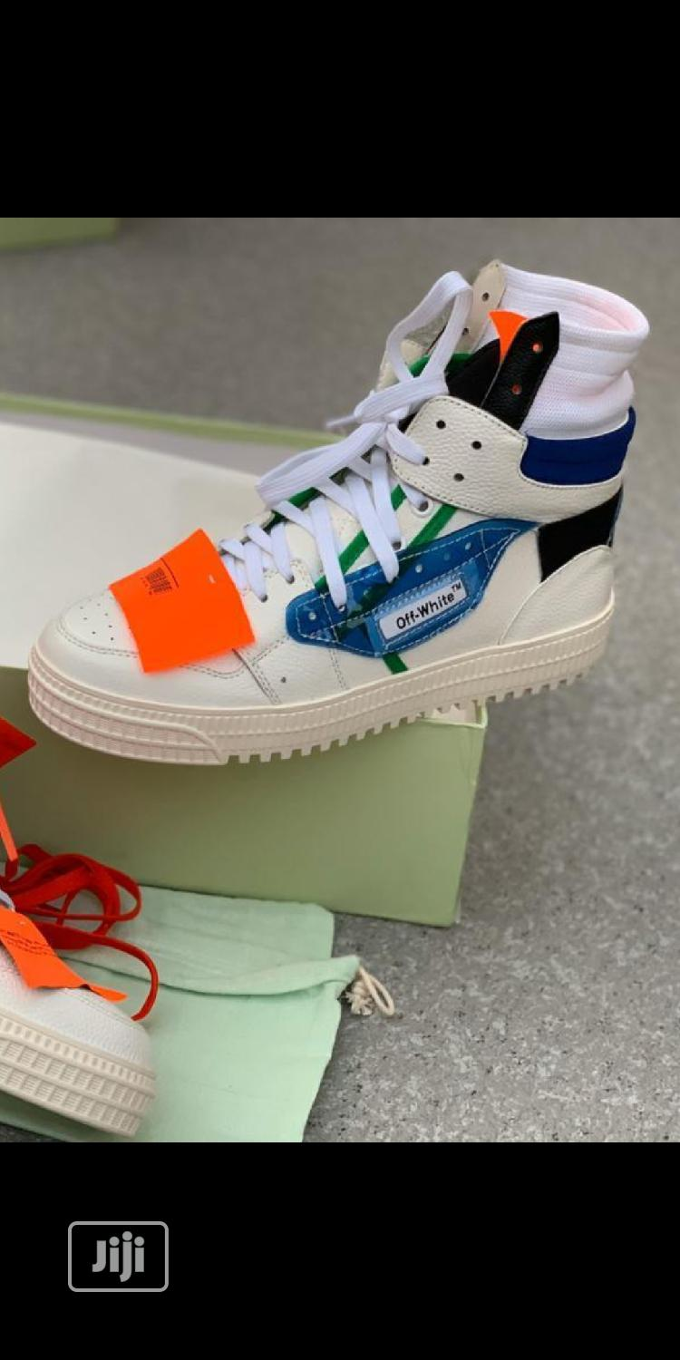 Offwhite Sneakers | Shoes for sale in Lagos Island, Lagos State, Nigeria