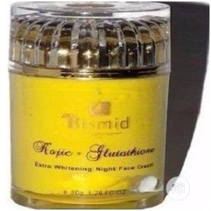 Bismid Kojic + Glutathione Night Face Cream | Skin Care for sale in Lagos State, Amuwo-Odofin