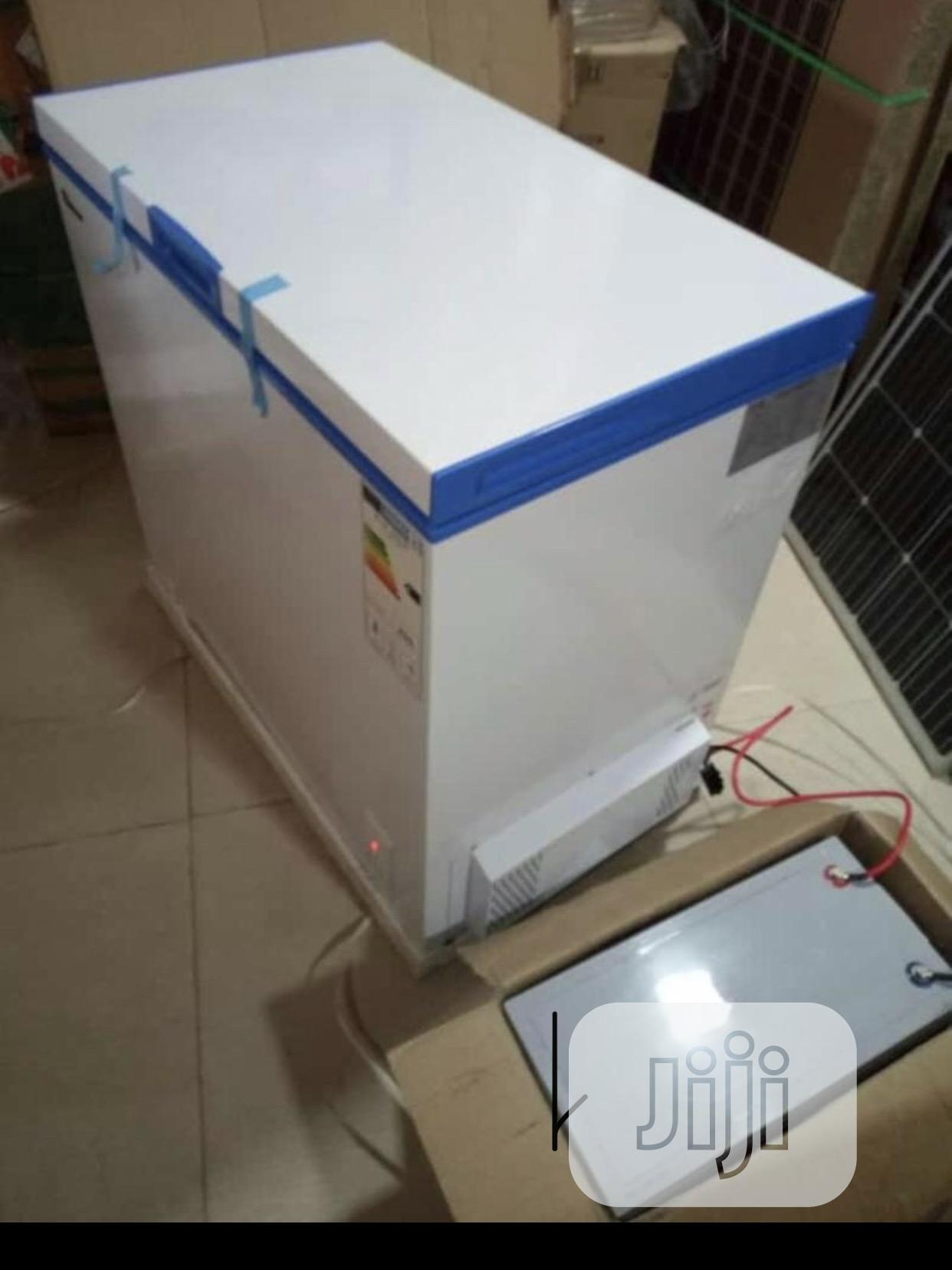 200L DC AC Solar Freezer