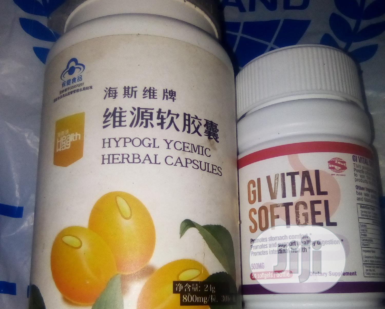 GI and Hypoglacimic Herbal Caps Permanent Cure Hepatitis B