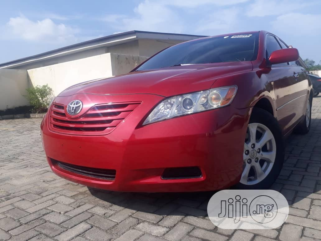 Archive: Toyota Camry 2008 2.4 LE Red