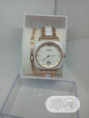Guess Exotic Female Watch With Handchain - White | Watches for sale in Lagos State, Ojodu