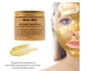 Isner Mile 24 Karat Gold Facial Cleansing Mask   Skin Care for sale in Lagos State, Ikeja
