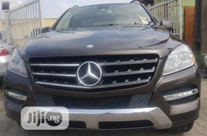 Mercedes-Benz M Class 2014 Brown | Cars for sale in Lagos State, Surulere