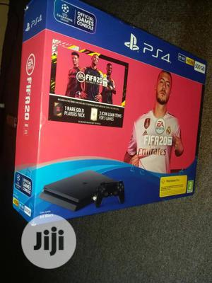 Brand New SONY Playstation 4 Console With FIFA 20 Cd   Video Game Consoles for sale in Lagos State, Ikeja